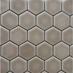 GBI Tile & Stone Inc. Ceramic Beige Mosaic Ceramic Wall Tile (Common: 12-in x 11-in; Actual: 12.78-in x 10.79-in)