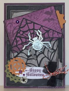 Steampunk Halloween Card