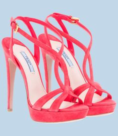 prada pink shoes