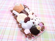 Chocolate Deco Sweets Kawaii Decoden Case for iPod by Lucifurious, $42.00