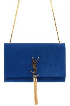 Yves Saint Laurent Classic Medium Monogram Tassel Satchel In Majorelle Blue Suede Blue Majorelle Cross Body Bag. Get the trendiest Cross Body Bag of the season! The Yves Saint Laurent Classic Medium Monogram Tassel Satchel In Majorelle Blue Suede Blue Majorelle Cross Body Bag is a top 10 member favorite on Tradesy. Save on yours before they are sold out!