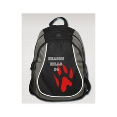 Teen Wolf - Backpack (110 BAM) ❤ liked on Polyvore featuring bags, backpacks, teen wolf, accessories, travel zip bags, travel backpack, zip bags, travel rucksack and rucksack bag