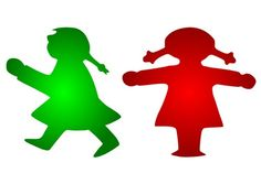 Rood groen complementair