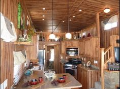 2013 KROPF Island Super Loft  106368479 large photo Shed To Tiny House, Tiny House Trailer, Tiny House Cabin, Tiny House Living, Tiny House Plans, Small Living, Cute Small Houses, Little Houses, Cabin Design