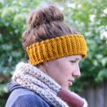 Textured Crochet Ear Warmer Pattern
