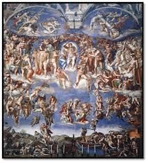 El juicio final de la Capilla sixtina, Miguel Angel