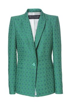 Image 6 of JACQUARD BLAZER from Zara