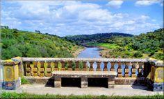 Ardila river. Moura, Alentejo, Portugal. #alentejo #visitalentejo #portugal #visitportugal #ardila #river #moura