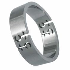 Brushed Stainless Steel Ring (Female Symbol)- Gay Pride  #aabstyle #jewelry #rainbow #pride #stainlesssteel #female #male #lgbt #bracelets #wholesale #jewelryfashion #unisex #accessories #menwear #rings #womenwear #fashion #style #shop