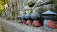 JIZO | little buddhist statues tokyo japan jizo