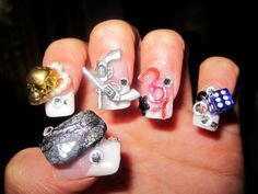 Crazy nail art google search girly of all girlyes pinterest crazy nail art google search prinsesfo Images