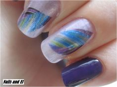 Day 21 - Inspired by a color http://nailsandel.blogspot.cz/