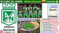Conoce la historia del Club más Laureado de Colombia.  El Atlético Nacional de Medellín tiene un impresionante historial que demostrar, en cuanto a titulo obtenidos. Ha sido 16 veces Campeón de la Liga Colombiana, más que nadie en su pais.  A eso hay que sumarle 4 Copas de Colomobia, y 2 Superligas. A nivel internacional, es junto a Once Caldas, el unico club colombiano que ha ganado alguna vez la  Copa  Libertadores. Lo hizo en 1989 y 2016. En 1995 fue Subcampeón. A eso hay que añadir 1…
