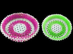 How to make beaded fruits basket/পুতির ফলের ঝুড়ি/Beaded fruits basket Tatting Jewelry, Seed Bead Jewelry, Bead Jewellery, Beading Tutorials, Beading Patterns, Basket Crafts, Beaded Boxes, Beaded Crafts, Bracelet Crafts