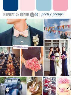 Inspiration Board: Pretty Preppy | Elegance & Enchantment