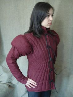 Padded armor Gambeson Free Shipping by MadHammer on Etsy