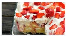 No-Bake Strawberry Banana Pudding Twinkies Cake - High Octane Humor