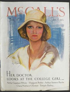 Neysa McMein Art | This is the original cover of McCall's Magazine dated June 1931. An ...