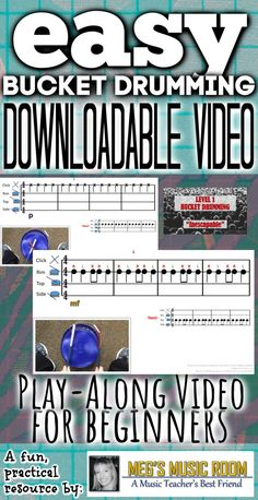 Inescapable - Bucket Drumming for Young Musicians and Beginners Preschool Music, Music Activities, Teaching Music, Multicultural Activities, Movement Activities, Drum Lessons, Music Lessons, Bucket Drumming, Smart Board Lessons