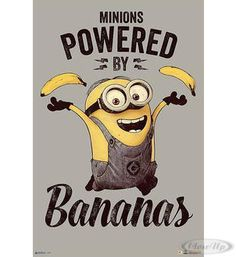"Minions ""Powered by Bananas""  Hier bei www.closeup.de"