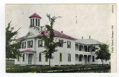 Public School House Building Stuttgart Ark AR Arkansas 1908 Vintage Postcard | eBay