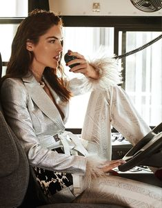 Vogue Taiwan May 2018 Hilary Rhoda by Caleb & Gladys