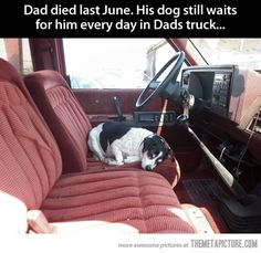 Still waiting for him…