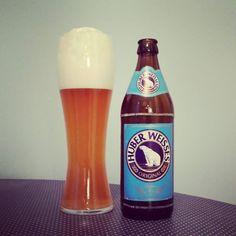 Huber Weisse #weizenbier #weissbier #freising #huber #kiel #beerlove #beerporn #instabeer #beerstagram #beer #bier #cheers #prost