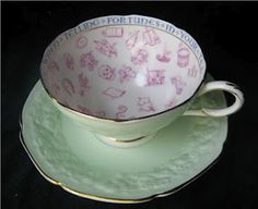 Tasseography- the art of fortune telling through the medium of tea leaves. This would be an antique fortune telling teacup. Teapots And Cups, Teacups, Coffee Time, Tea Time, Tea Reading, Fortune Telling, Something Old, Occult, Tea Party