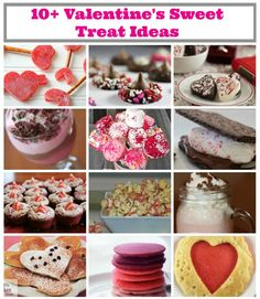 10+ Valentine's Day Sweet Treats Recipes #vday #valentines #recipes