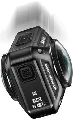 Nikon KeyMission 360 | 360-degree 4K Ultra HD Action Camera