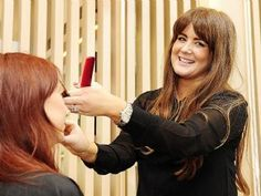 The Lovely Estelle from TRESS Hair on Oxford St doing what she does best