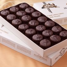 See's Candies: Scotchmallows. Dark chocolate, caramel, and marshmallow...my absolute favorite candy ever.