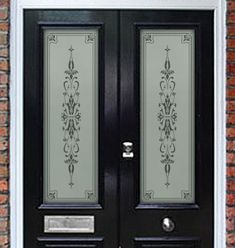 etching glass   ... Feature 004 – Etched Glass Door Panels   Philip Bradbury Glass
