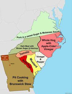 BBQ by Region