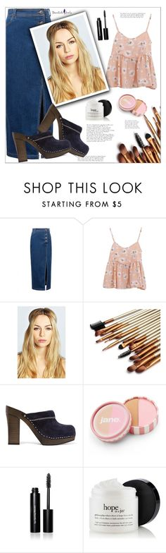 """""""Beautiful Halo"""" by mycherryblossom ❤ liked on Polyvore featuring Boohoo, See by Chloé, jane, Bobbi Brown Cosmetics, women's clothing, women's fashion, women, female, woman and misses"""