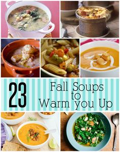 23 Fall Soups to Warm You Up