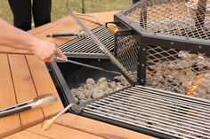 This Fire Pit Grill And Table Combo Is Every Mans Dream Grill - Fire pit and grill table