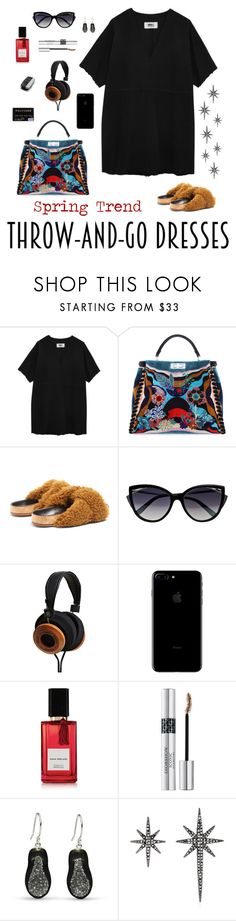 """""""Just go"""" by staggemeier-amaral ❤ liked on Polyvore featuring MM6 Maison Margiela, Fendi, Chloé, La Perla, Diana Vreeland Parfums, Christian Dior, Federica Tosi and easydresses"""