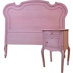 French Antique Louis XV Style Bedroom Set on Ruby Lane #Vintage #Bedroom #FrenchStyle #RubyLane