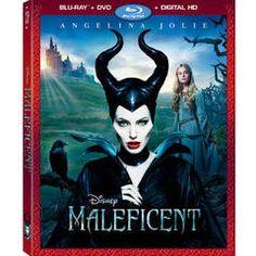 Maleficent (Blu-ray + DVD + Digital Copy)