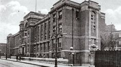 Opened in 1917 the Children's a Hospital Ladywood Birmingham UK.