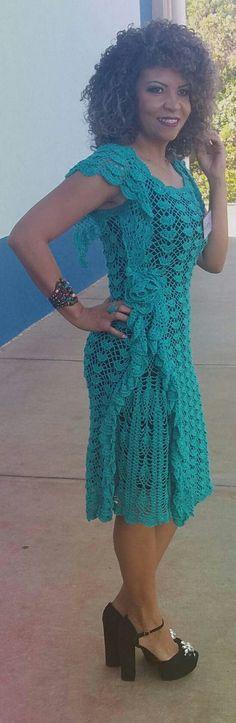 Preciso do gráfico desse vestido lindo