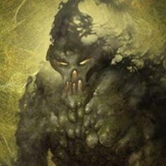 Tifão Gigante da Tempestade, o Pai dos Monstros.  Um monstro enorme, uma vez preso pelos deuses sob uma montanha. Possui forma de homem, com a pele verde malhada, mãos humanas, as garras de uma águia, e os pés de um réptil. Uma vez liberado, Tifão pode causar grandes destruições, pois é considerado o pai de todos os monstros e também o último, porém mais forte, gigante enviado por Telo.