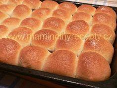 Hrnkové kynuté těsto Hot Dog Buns, Hot Dogs, Bread, Food, Hampers, Brot, Essen, Baking, Meals