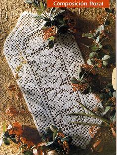 Kira scheme crochet: Scheme crochet no. Album, Blog, Table Runners, Rolodex, Butterflies, Picasa, Artists, Runners, Driveways
