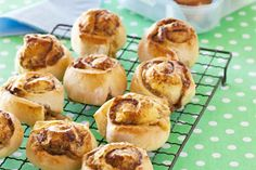 Cheese & Mite Scrolls recipe, NZ Woman's Weekly – These delicious scrolls are also good for an after-school snack, especially straight out of the oven. – foodhub.co.nz (I replaced the marmite with shaved ham and tomato relish - got the tick from my husband!)