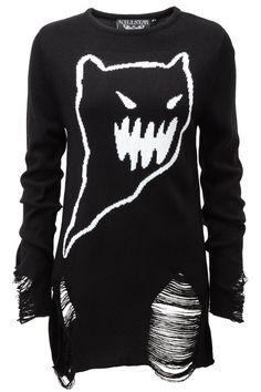 Spooky Who The F**k Is Casper Knit [B]