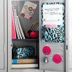 Gear-Up Pool Cheetah Locker Dry-Erase Pocket #pbteen