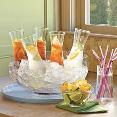 Encontrando Ideias: Bebidas com Charme!!!!